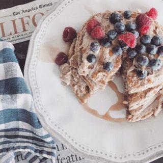 Fluffy Chia Pancakes
