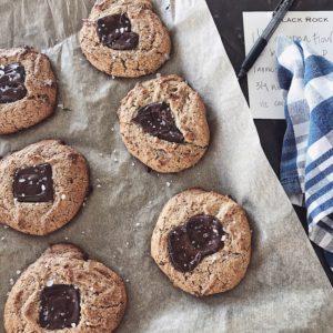 Chocolate Cashew Butter Cookies