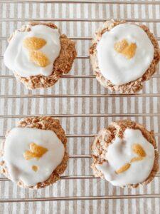 4 Ingredient Vegan Lemon Cookies