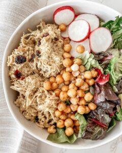 Mayo-Free Curry Chicken Salad