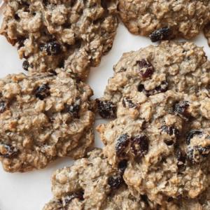 Gluten Free Cranberry Oatmeal Cookies