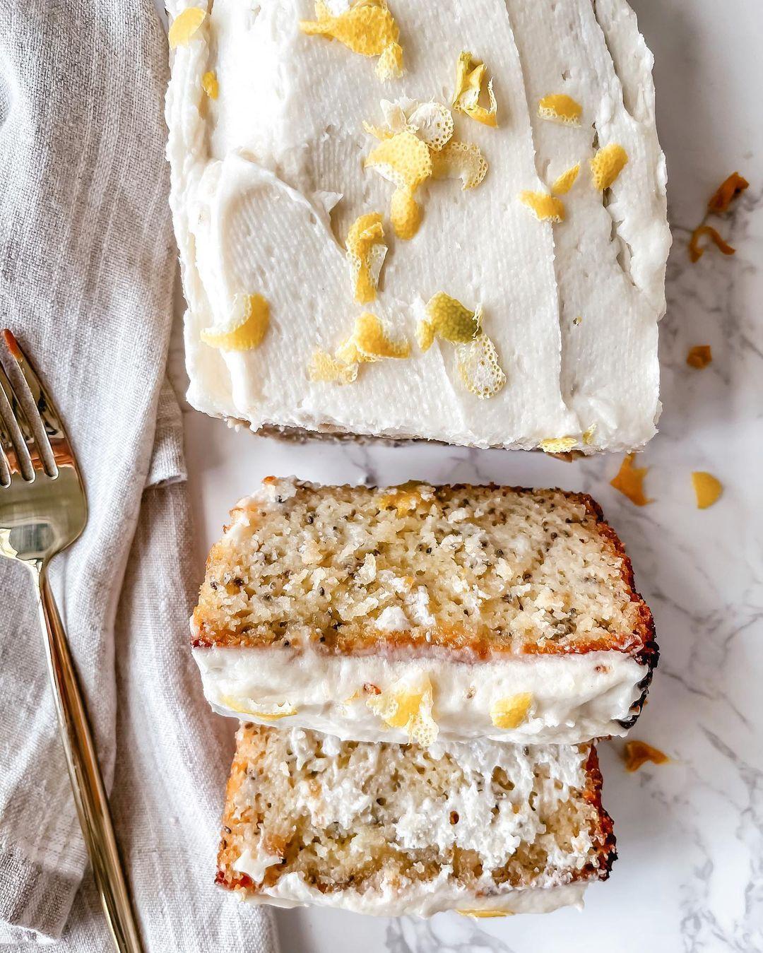 Gluten Free Lemon Loaf