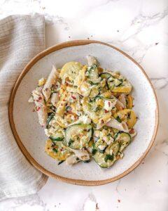 Vegan Ricotta & Zucchini Pasta