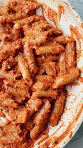 Vegan Version of Gigi Hadid's Famous Pasta